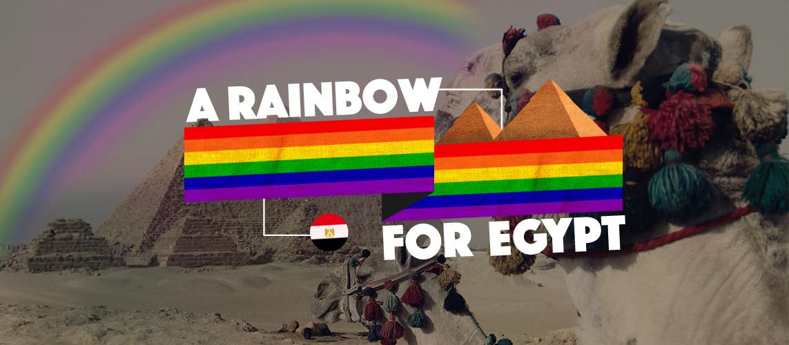 A Rainbow For Egypt